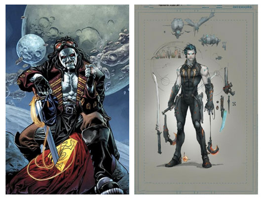 DC Comics Lobo old and new 52