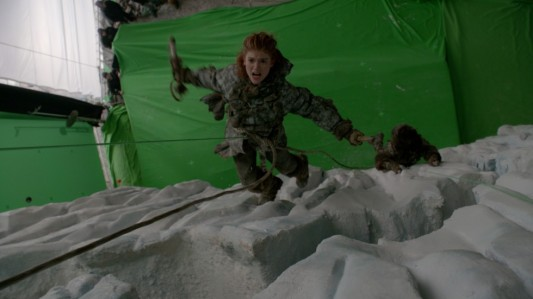 Game Of Thrones Season 3 Green Screen Ygritte (Rose Leslie)