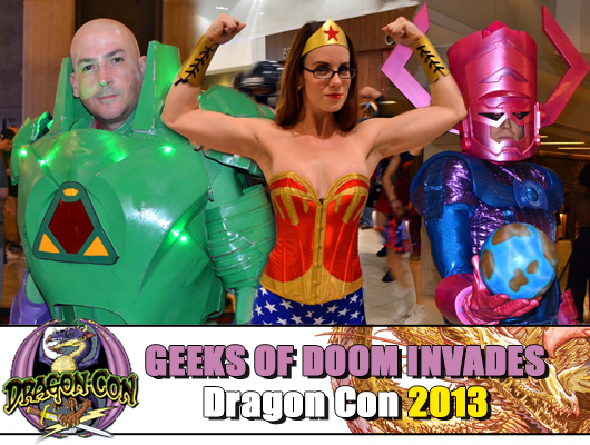 Dragon Con 2013: Cosplay banner