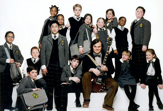 School of Rock 2003 promo photo
