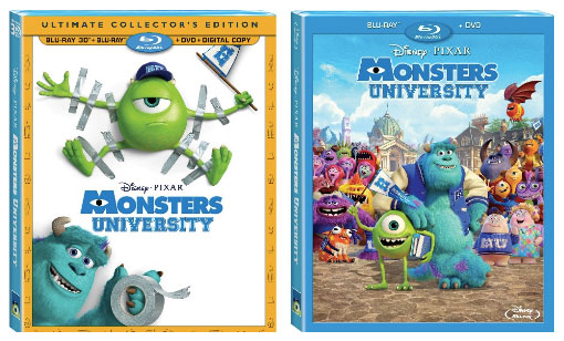 Monsters University Blu-ray