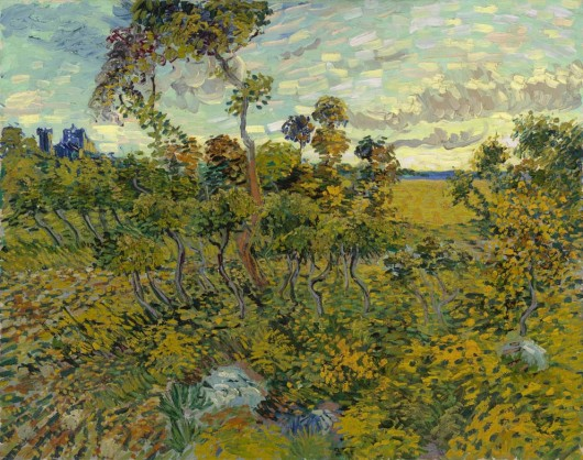 Vincent van Gogh: Sunset at Montmajour 1888