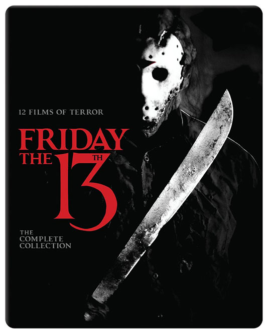 Friday the 13th: The Complete Collection Blu-ray cover