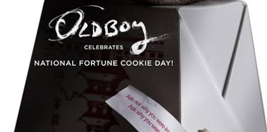 'Oldboy' Celebrates National Fortune Cookie Day banner