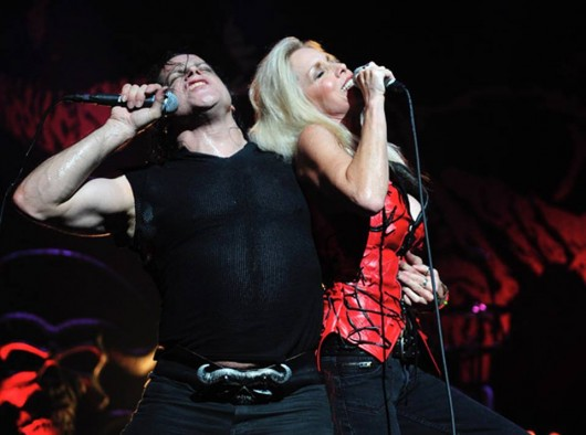 Glenn Danzig Cherie Currie Some Velvet Morning. Photo by Maurice Nunez