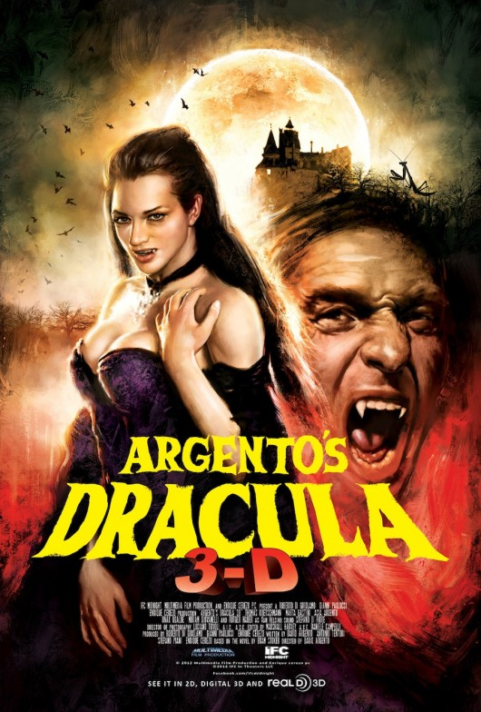 Argento's Dracula 3D Poster