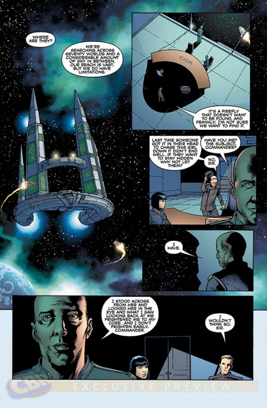 Serenity Comic Preview #1