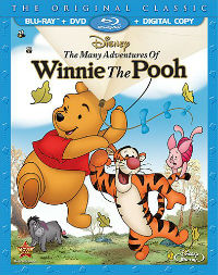 The Many Adventures of Winnie The Pooh Blu-ray cover
