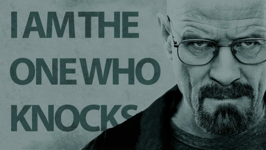 Breaking Bad Walter White I Am The One Who Knocks
