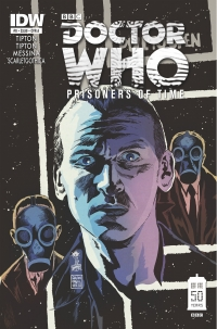 Doctor Who: Prisoners Of Time #9 cover by Francesco Francavilla
