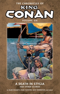 The Chronicles of King Conan, Vol. 6 cover by Michael Kaluta