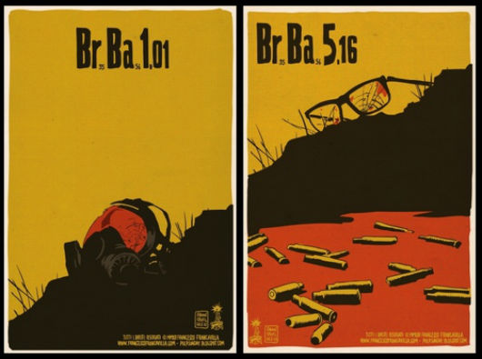 Francesco Francavilla Breaking Bad Posters