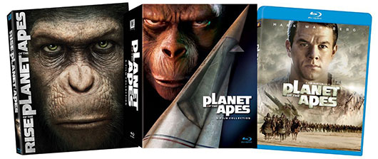 Planet of the Apes blu-ray collection
