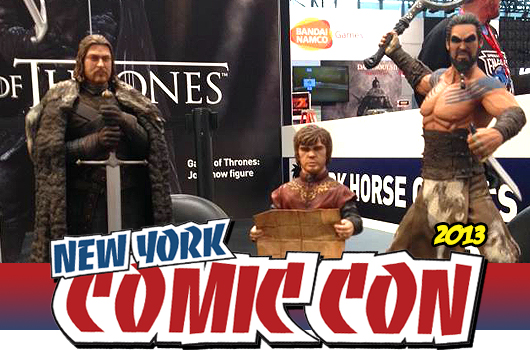 NYCC 2013: Dark Horse: Game of Thrones Figurines
