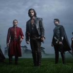 Da Vinci's Demons Season 2 Exterior group field Margam Tom Riley as Leonardo da Vinci