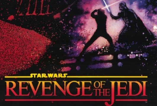Revenge Of The Jedi Poster Header