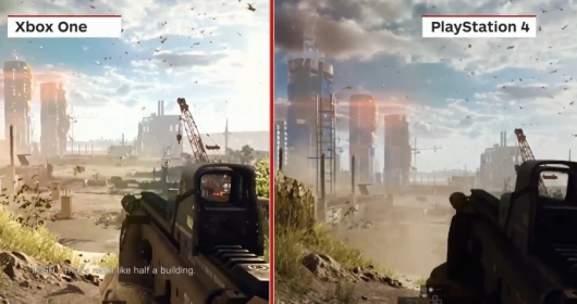 Battlefield 4 Xbox One and PS4 Comparison