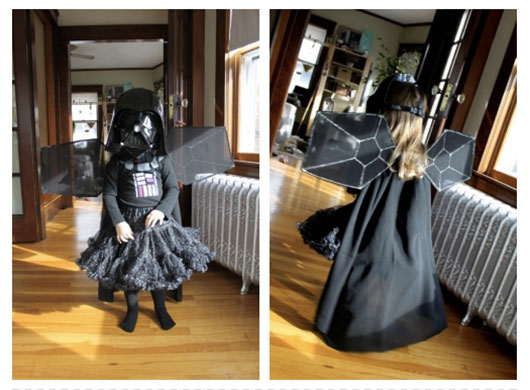 Tiny Princess Darth Vader Halloween Costume