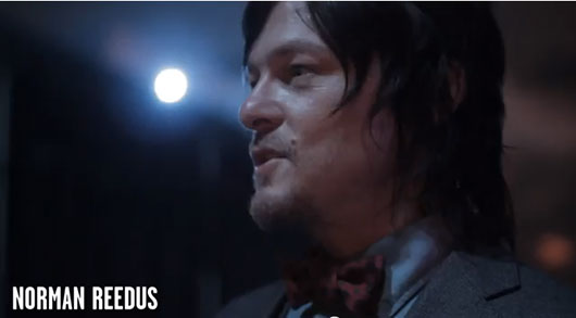 Norman Reedus Halloween Horror Nights The Walking Dead maze