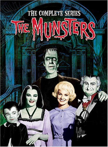 The Munsters The Complete Series DVD