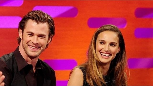 Thor Stars Natalie Portman  Chris Hemsworth on The Graham Norton Show