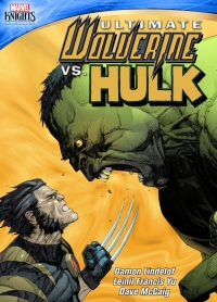 Marvel Knights: Ultimate Wolverine vs Hulk DVD cover