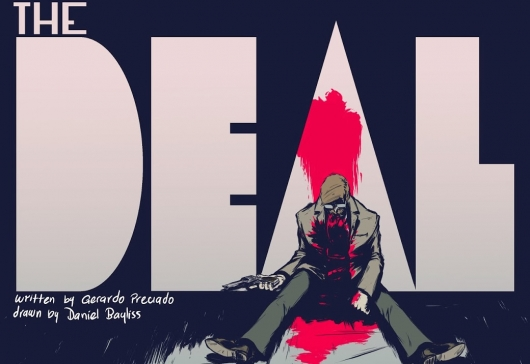 "Batman Fan Comic ""The Deal"" Header"