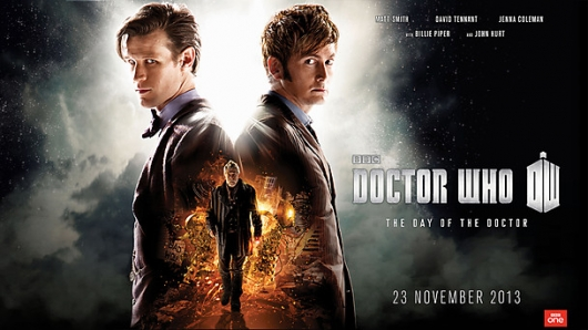 Doctor Who 50th anniversary special The Day Of The Doctor Matt Smith David Tennant