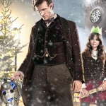 Doctor Who 2013 Christmas Special The Time of the Doctor poster