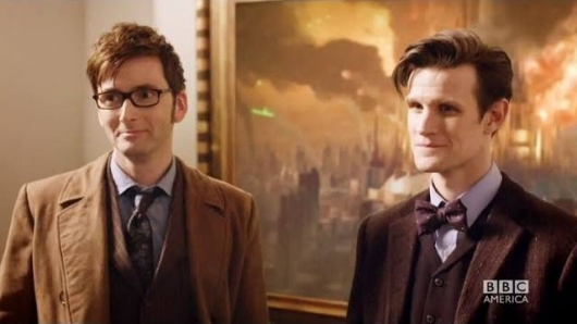 Doctor Who David Tennant and Matt Smith The Day Of The Doctor 50th Anniversary Special