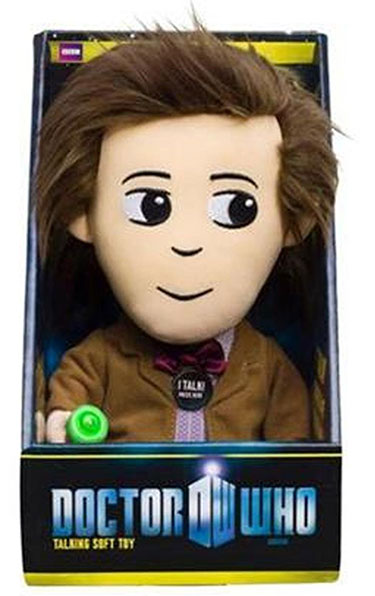 Doctor Who Eleventh Doctor Medium Talking Light Up Plush
