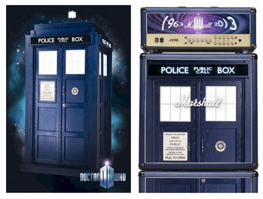 Doctor Who TARDIS Marshall Stack Auction For Charity