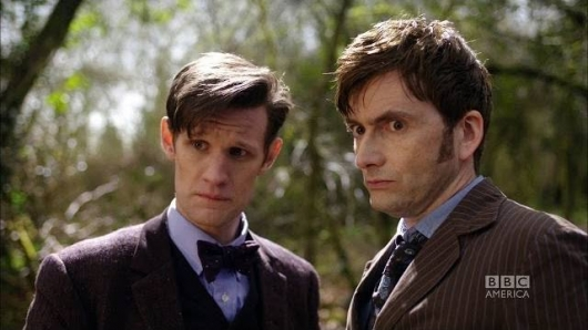 Doctor Who: The Day of the Doctor BBC America Matt Smith and David Tennant