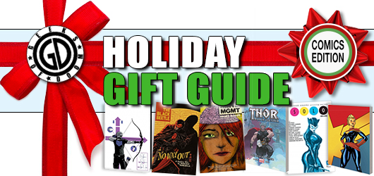 Holiday Gift Guide: Comics banner