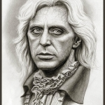 Al Pacino as Lestat Interview with the Vampire Concept Art by Miles Teves