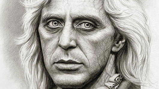 Al Pacino as Lestat Interview with the Vampire Concept Art by Miles Teves (cropped)