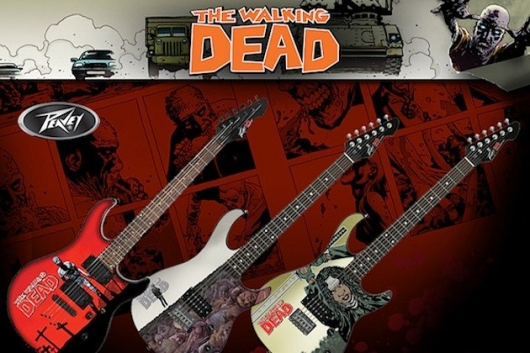 Peavey The Walking Dead guitars