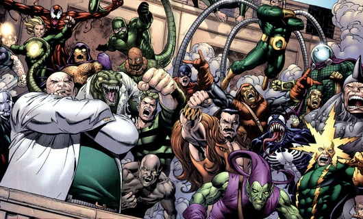 Spider-Man Villains Image Header