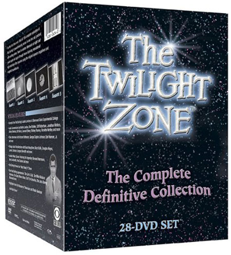 The Twilight Zone: The Complete Definitive Collection DVD box set