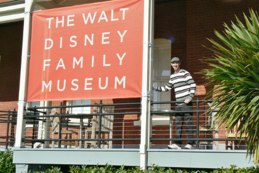 Brett Nachman at The Walt Disney Family Museum