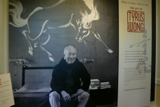 The Walt Disney Family Museum - The Art of Tyrus Wong exhibit