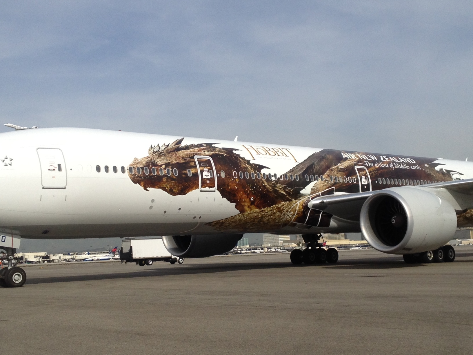 New Zealand Job Interview The Hobbit The Desolation Of Smaug Aircraft Image 6