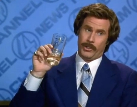 Anchorman Ron Burgundy Scotch