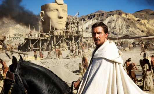 Christian Bale as Moses in Ridley Scott's Exodus: Gods and Kings