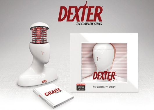 Dexter: The Complete Series Collection Exclusive Gift Set Blu-ray Edition