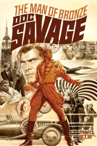 Doc Savage #1 cover by Alex Ross