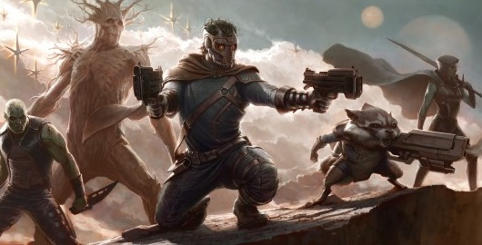 Guardians of the Galaxy concept art header