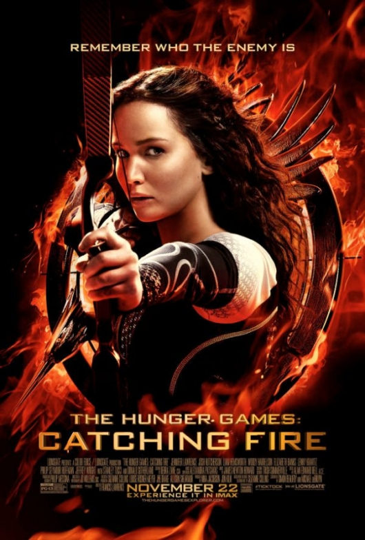 The Hunger Games: Catching Fire Theatrical Poster