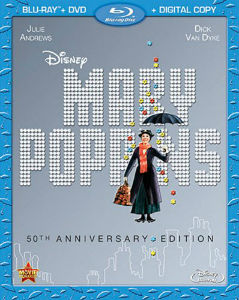 """Mary Poppins"" Blu-ray Cover"