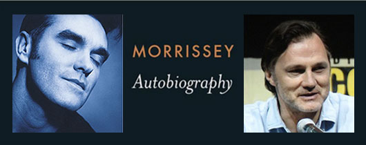 Morrissey Autobiography audiobook narrated by Walking Dead star David Morrissey